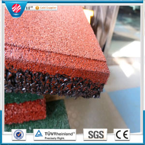 Square Rubber Tile/Wearing-Resistant Rubber Tile/Outdoor Rubber Tile pictures & photos