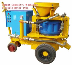 Pz-9 Shotcrete Machine for Spraying Cement pictures & photos