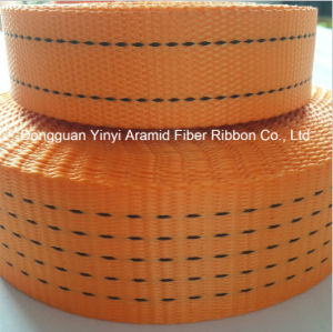 1.5 Inch High Strength Polyester Woven Webbing for Heavy Packing Belt pictures & photos