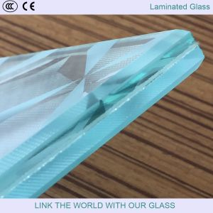 7.38mm/8.38mm Ultra Clear Laminated Glass for Balcony pictures & photos