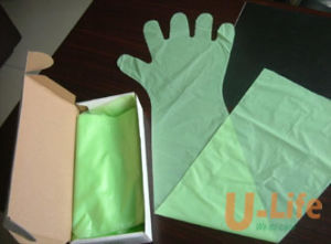 Disposable Long-Arm Veterinary Gloves (90cm) pictures & photos