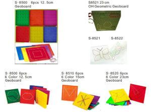 Educational Toys, Math Geo Board, Teaching Aid, Geoboard (S-8500)