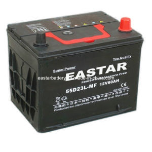 Maintenance Free Battery for Car 70ah (55D23L) pictures & photos