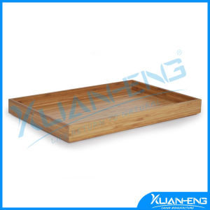 Eco-Friendly Lacquered Bamboo Serving Tray pictures & photos