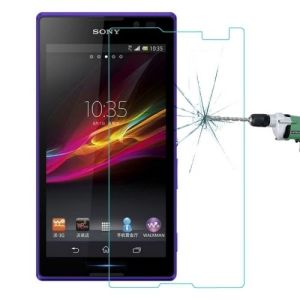 Tempered Glass Screen Guard Film Screen Protector for Sony Xperia C S39h pictures & photos