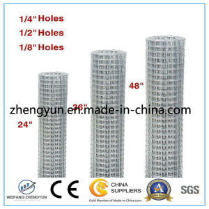 Low-Carbon Steel Wire Welded Wire Mesh / Square Hole Galvanized Welded Wire Mesh pictures & photos