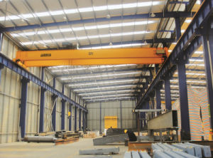 European Type Electric Hoist Double Girder Overhead Crane pictures & photos