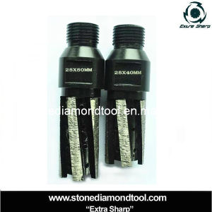 CNC Machine Segmented Diamond Core Drill Bits M14 pictures & photos