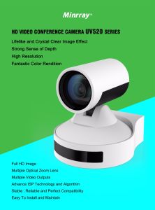 72.5 Degree Pan Video Conference Camera for Video Conferencing Platform