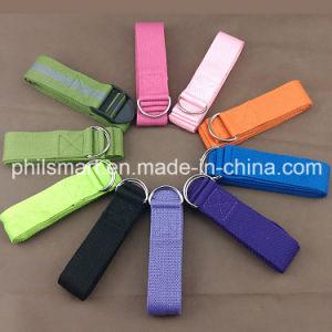 Cotton D Ring Yoga Strap (PHH-990173) pictures & photos