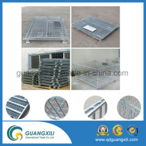 High Capacity (1000-3000kgs) Metal Wire Mesh Storage Cage Container pictures & photos