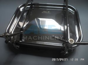 Sanitary Stainless Steel Square Manhole Cover with Two Intersectant Arms (ACE-RK-11D) pictures & photos