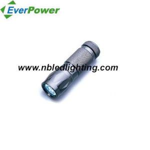 9PCS Aluminum LED Flashlight (FA-2007-9LED)