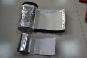 Express Aluminized Fiberglass Heat Shield Sleeve with Magic Tape pictures & photos