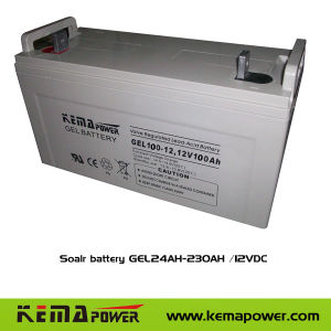 Soalr Battery Gel (24AH-230AH /12VDC) pictures & photos