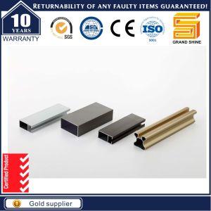 Aluminum/Aluminium Alloy Extrusion Anodized Square Profile pictures & photos