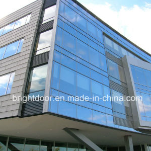 Aluminium Glass Curtain Wall Design pictures & photos