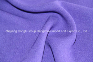 Popular High Twist Polyester Chiffon Fabric Good Quality pictures & photos