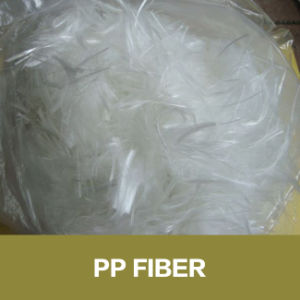 Construction Precast Concrete Use PP Fiber Polypropylene Fiber pictures & photos