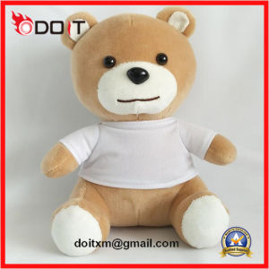 Promotional Gift Custom Logo White T Shirt Teddy Bear pictures & photos