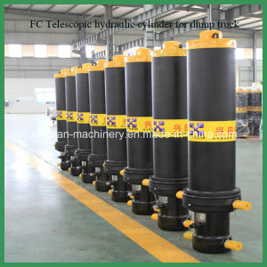 Single Acting Telescopic Hydraulic Cylinder with Good Price pictures & photos