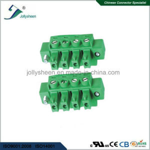 Pluggable Terminal Blocks pH5.08mm with Green Housing pictures & photos
