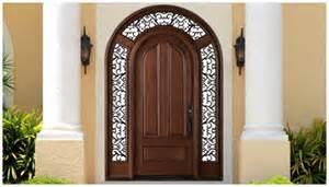 Wooden Door with Glass/Entrance Wooden Door with Classic Design pictures & photos