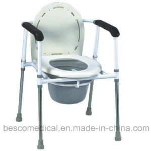 Commode Chair with Detachable Seat and Arm Rest (BES-CC16A)