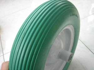 PU Foam Rubber Wheel/Durable PU Foam Wheel Alibaba China Supplier pictures & photos