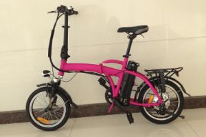16′ Folding Electric Bike in Light Weight Battery pictures & photos