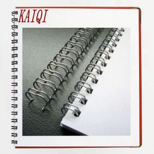Metal Double Loop Wire for Notebook Binding pictures & photos