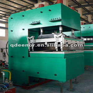 Hot Selling Precure Tread Vulcanizing Press / Tyre Tread Making Machine/ Rubber Tread Molding Press pictures & photos