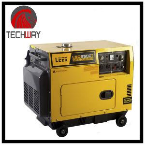 Tw6500s 5kw Silent Diesel Generator pictures & photos