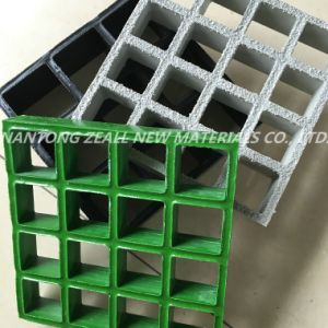 Thickness 25mm FRP Grating for The Water Treatment Plant