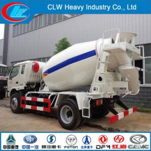 Foton 4X2 Loading Capacity 5ton 3cbm Concrete Mixer Truck pictures & photos