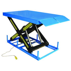 Electric Hydraulic Scissor Dock Lift Leveler for Forklift Truck pictures & photos
