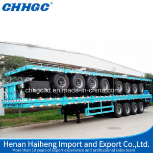 Best Quality 40FT Plat Form Container Cargo Semi-Trailer pictures & photos