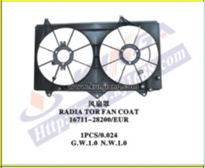 Cooling Radiator Fan Coat for Camry′2002 Acv30 (111701-ACV30-F) pictures & photos