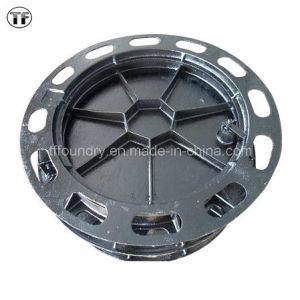 En124 Medium Duty Double Seal Ductile Casting Iron Manhole Covers pictures & photos