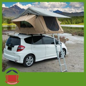 Trailer Tent Soft Roof Top Tent for Camping pictures & photos