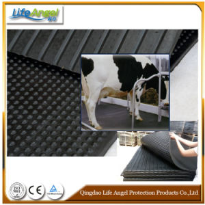 Black Dairy Cow Mat and Horse Matting/Cow Mattress/Rubber Cattle Mat pictures & photos
