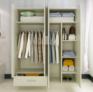 Bedroom Furniture Melamine Faced Wardrobe pictures & photos