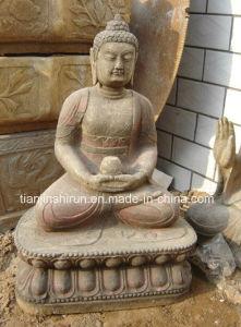 Antique Finish Marble Buddha Shakyamuni (SH263) pictures & photos