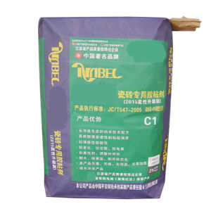 Kraft Paper Valve Bag for Brick Adhesive 20kg pictures & photos