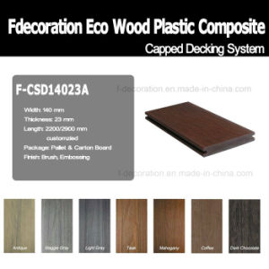 Co-Extrusion Outdoor Flooring Plastic Wood WPC Composite Decking pictures & photos