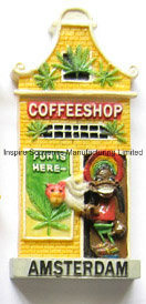 Amsterdam Coffee Shop Scene Promotional Gift (PMG074) pictures & photos