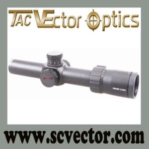 Vector Optics Paragon 1.2-6X24 Super Clear Long Eye Relief Rifle Scope with German Schott Glass Killflash Tactical Mark Mount pictures & photos