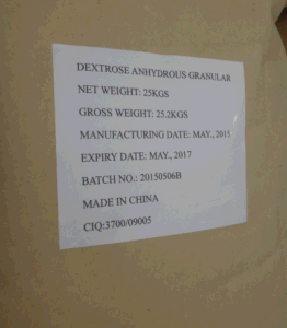 High Quality Food Grade Anhydrous Dextrose pictures & photos