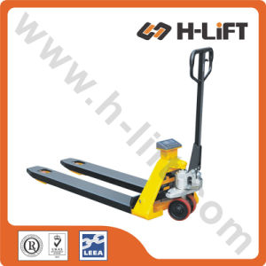 Hydraulic Hand Pallet Truck with Scale / Manual Pallet Truck pictures & photos