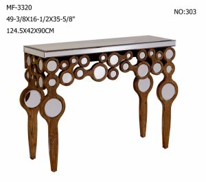 Luxury Home Decor Mirror Furniture Console Table pictures & photos